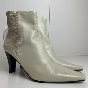covington nancy pointed toe zip up boots